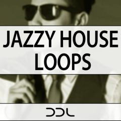 Jazzy House Loops <br><br>&#8211;  128 Wav Loops, 100 MIDI Files, 416MB, 24 Bit Wavs.