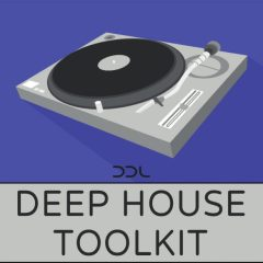 Deep House Toolkit <br><br>– 400 Loops & One-Shots, 342 MB, 24 Bit Wavs.