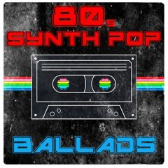 80s Synth Pop: Ballads <br><br>– 50 Construction Kits (379 Loops: Kick, Snare, Bassline, Chords + 175 MIDI Files), 89-113BPM, 4-8 Bars, 932 MB, 24 Bit Wavs.