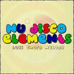 Nu Disco Elements: Bass, Chord, Melody <br><br>– 50 Construction Kits (200 Wav Loops, 150 MIDI Loops), 124BPM, 4-8 Bars, 588 MB, 24 Bit Wavs.
