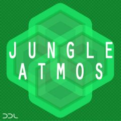 Jungle Atmos <br><br>– 10 Construction Kits (103 Wav Loops-Including Longer Field Recordings of Birds, Waves, Crickets, Ocean, Rain, Thunder) & MIDI Files), 780 MB, 24 Bit Wavs.