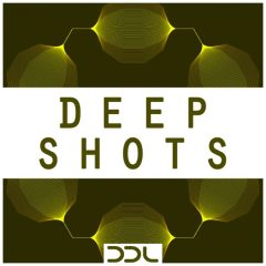 Deep Shots <br><br>– 430 One-Shot Samples (50 Claps, 50 Hats, 50 Kicks, 100 Percs (Lo, Mid, Hi), 50 Rims, 50 Snares, 80 Sounds), 240 MB, 24 Bit Wavs.