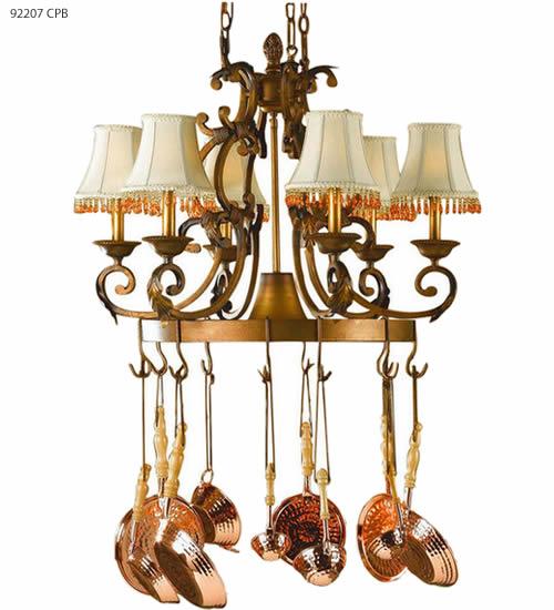 lighted pot racks deep discount lighting