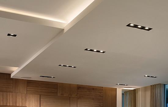 wac lighting square multiple recessed