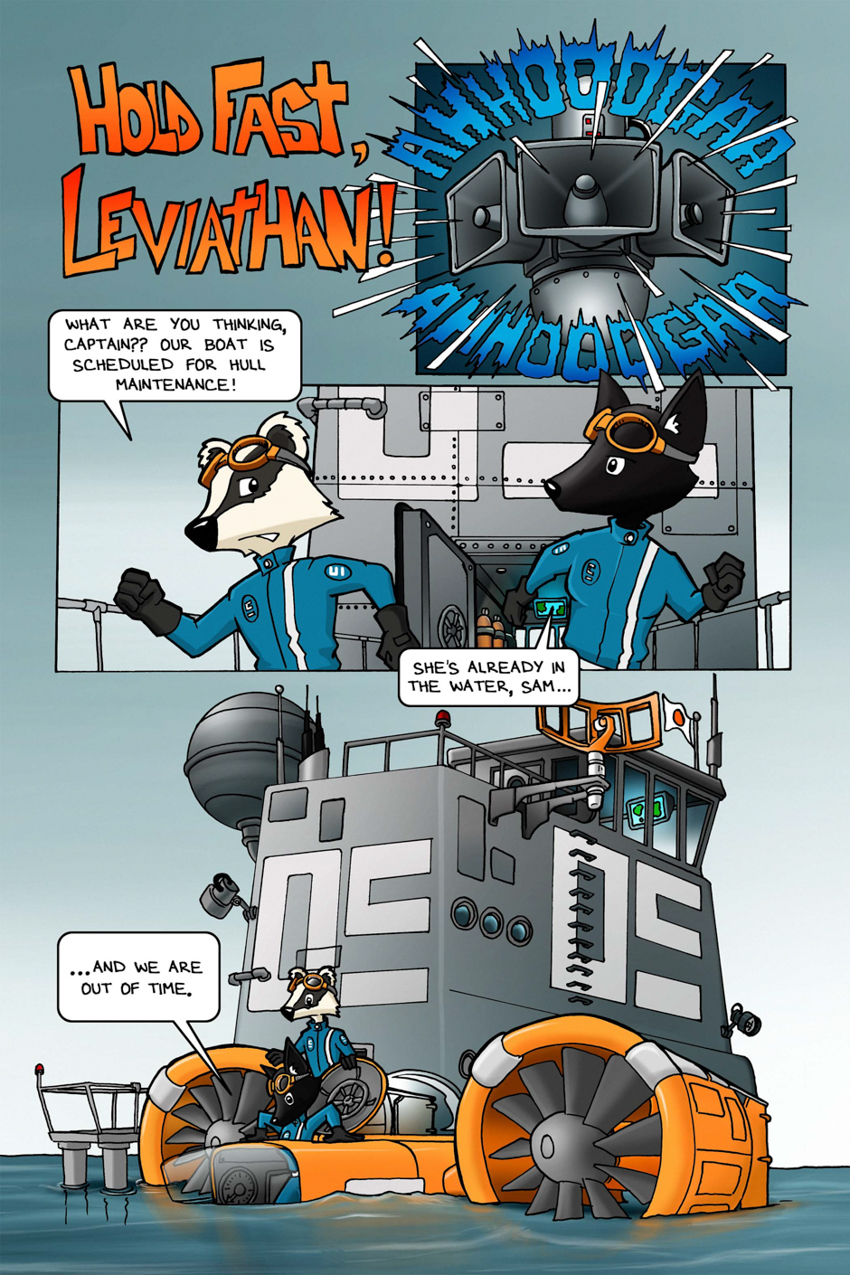 Hold Fast Leviathan – Page 1