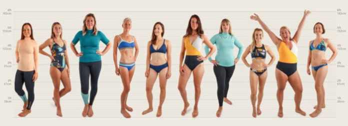 Size Matters Swimsuit Lineup