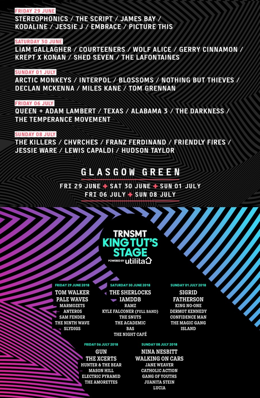 Gang of Youths in Glasgow on Sunday, July 8, 2018 – Deepest