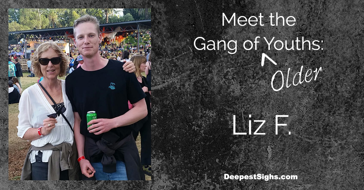 Meet the Gang of Older Youths: Liz F.