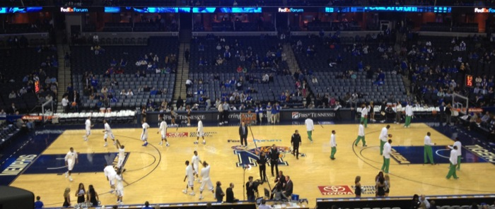 FedEx Forum: Memphis Tigers