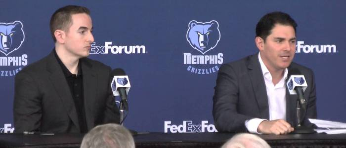 Memphis Grizzlies: Jason Levien and Robert Pera