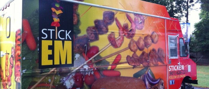 Stick Em Food Truck: Truck