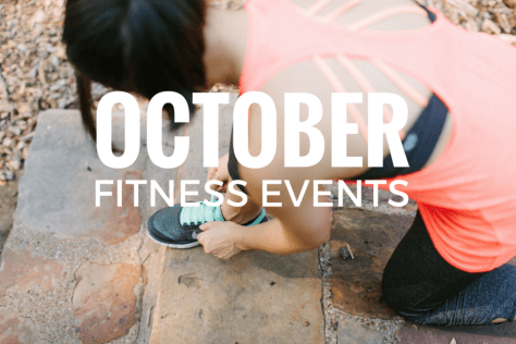october dallas fitness events