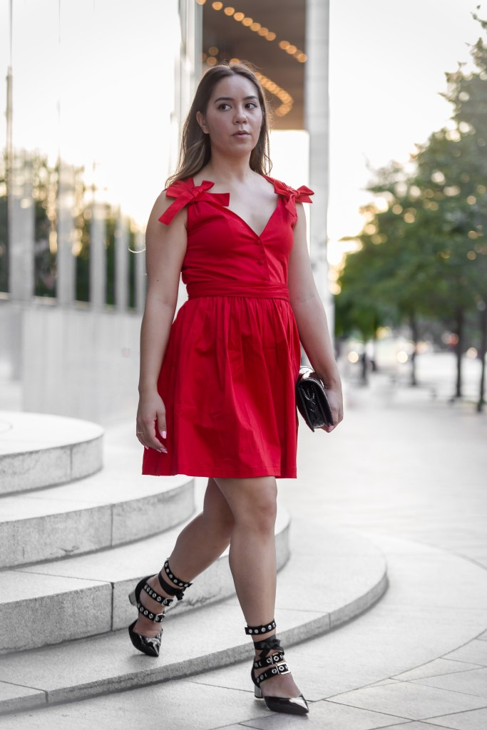Deep in the Heart of - Alexis red cocktail dress - Kristina Haag - Wedding style inspp