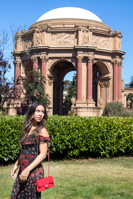 Deep in the Heart of - Kristina Haag - San Francisco - Palace of Fine Arts - Fashion Style