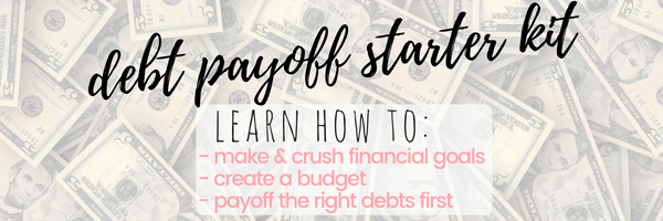debt payoff starter kit