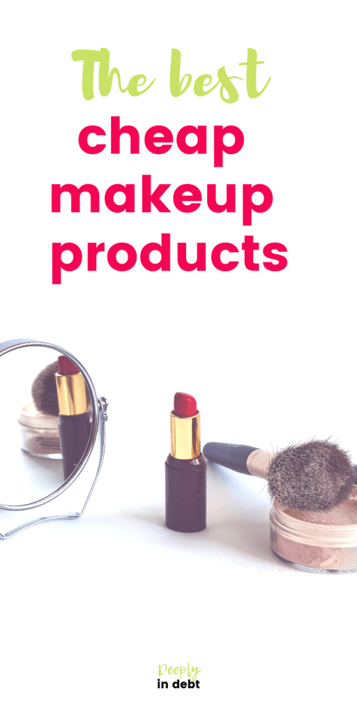 cheap makeup products