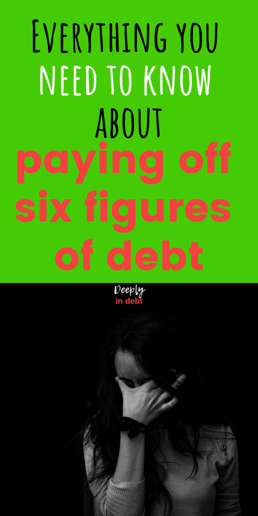 paying off six figures of debt
