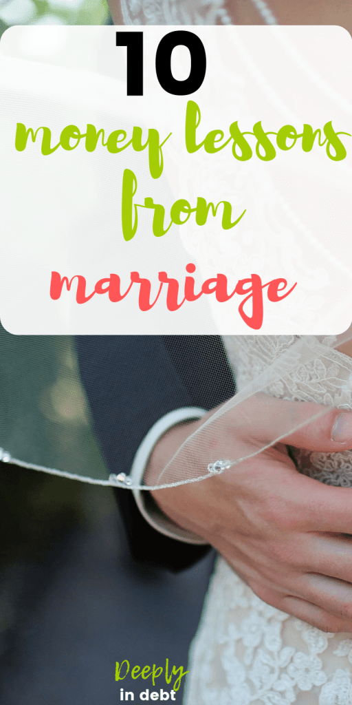 money lessons from marriage