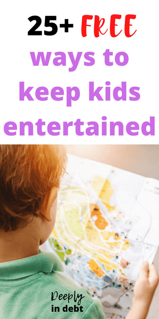 free ways to keep kids entertained