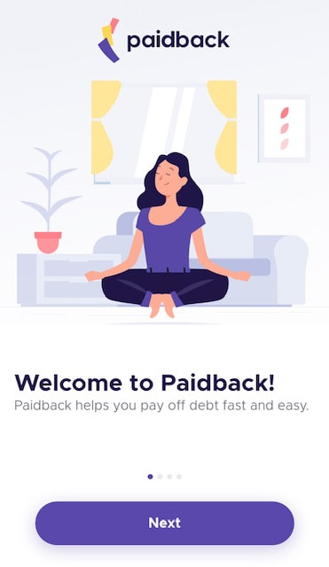 the paidback app