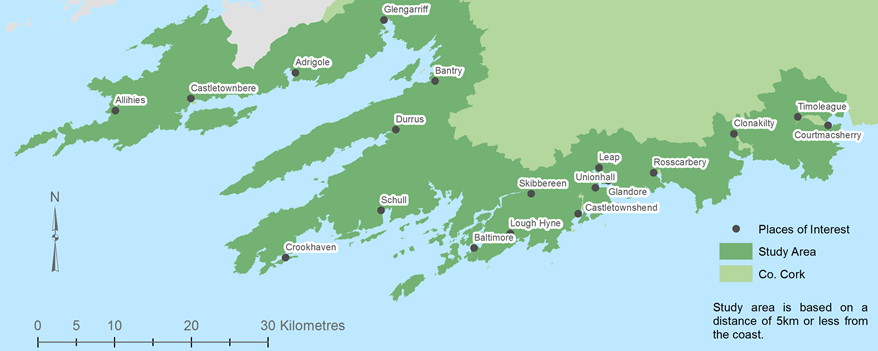 West Cork Research Areas