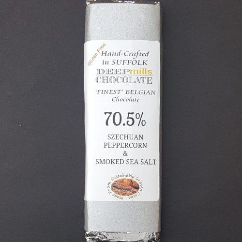 Dark Chocolate Szechuan Peppercorn and Smoked Sea Salt – 70.5%
