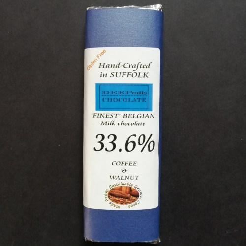 Coffee & Walnut in Milk Chocolate 33.6%