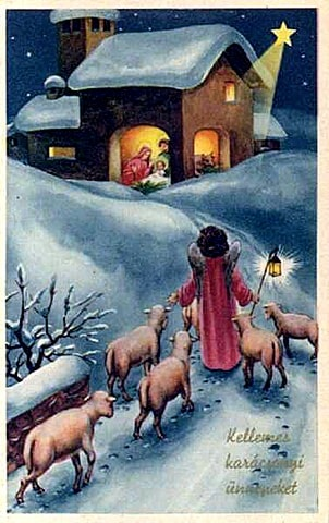 Christmas Quotations To Ponder, vintage Christmas artwork, Calvin Coolidge, Ronald Reagan, Martin Luther, Augustine, shepherds, an angel, Gabriel, Luke 2, Mary of Nazareth, Luke 1, Samuel Johnson, George Whitefield, Corrie Ten Boom, Frederick Buechner, Charles Wesley, Charles Spurgeon, J.I. Packer, Mother Theresa, Billy Graham, Stuart Briscoe, John MacArthur, quotes, sayings, contemporary, history, bible, angels, singing, shepherds in the fields, sheep, donkeys, heavenly hosts, praising God, Bethlehem star, Mary and Joseph, baby in a manger,