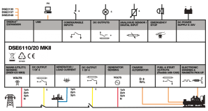 Deep Sea Generator Controller Wiring Diagram  Best Wiring Diagram and Letter
