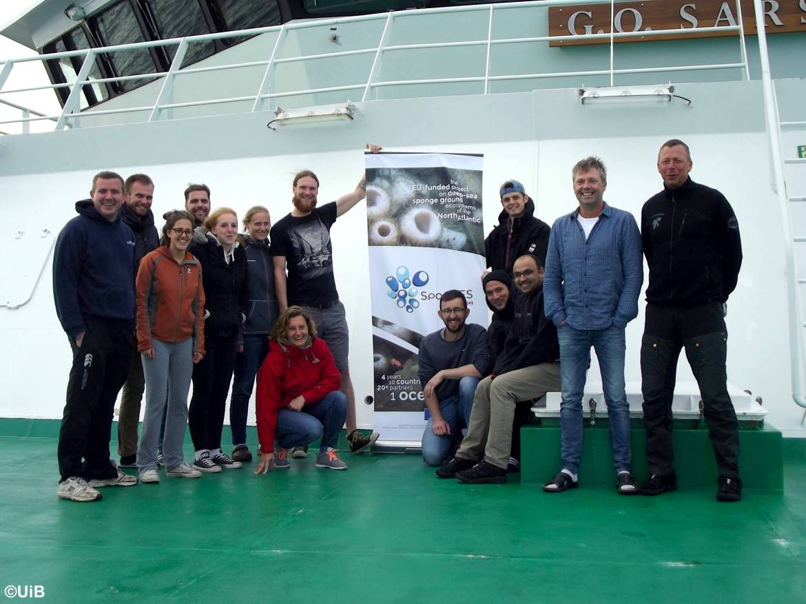 Report from the 2017 SponGES cruise onboard G.O. Sars