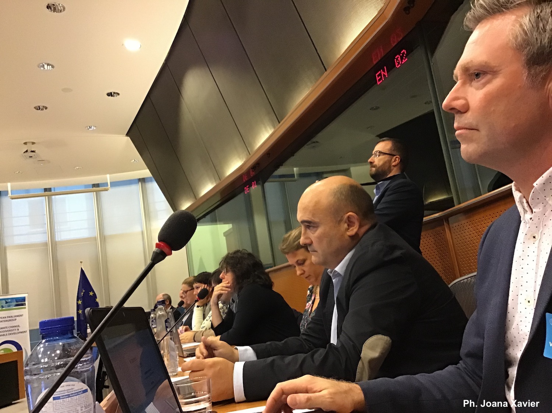 European Parliament SponGES event