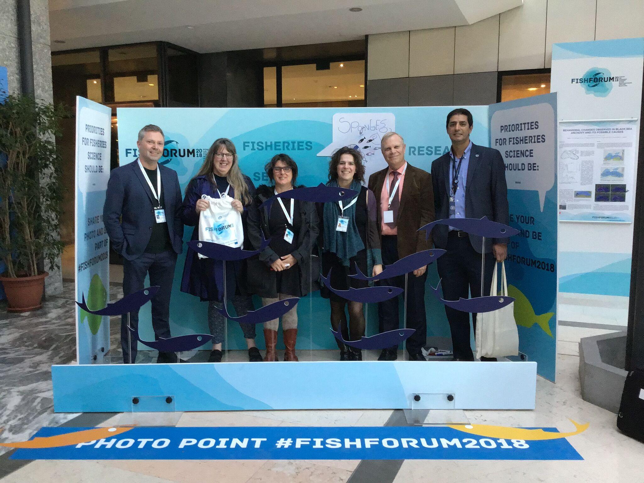 SponGES at FishForum 2018