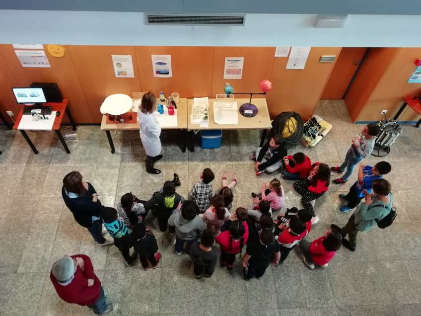 More sponges at Gijón's Science Week!
