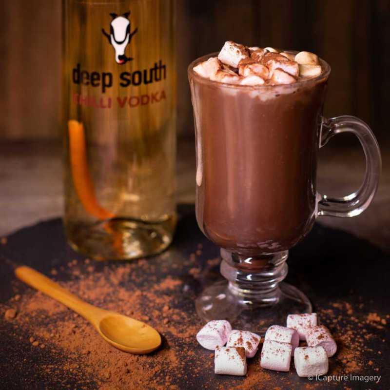 Recipe - Chilli Vodka Hot Chocolate