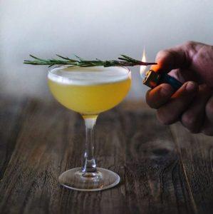 Recipe - Pineapple Gin and Rosemary