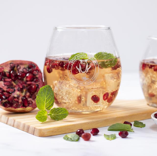 Recipe - Ruby Pomegranate Gin Dragonfly