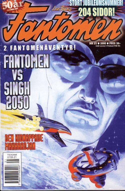 La rivista svedese Fantomen