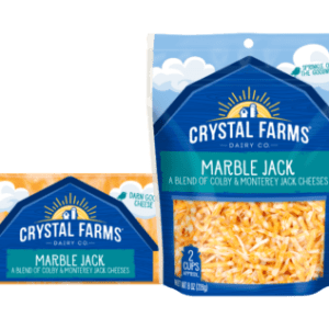 CF MARBLE JACK CHEESE, 8OZ