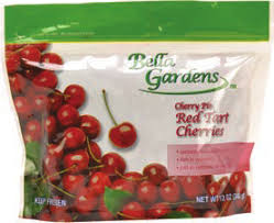 BELLA GARDENS FROZEN CHERRIES, 12OZ