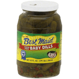 BEST MAID BABY DILL PICKLES, 22OZ