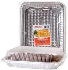 JIFFY FOIL CASSEROLE PAN, 1CT