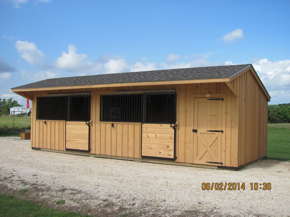 Portable Run In Shed 12 Wide Horse Shed Deer Creek