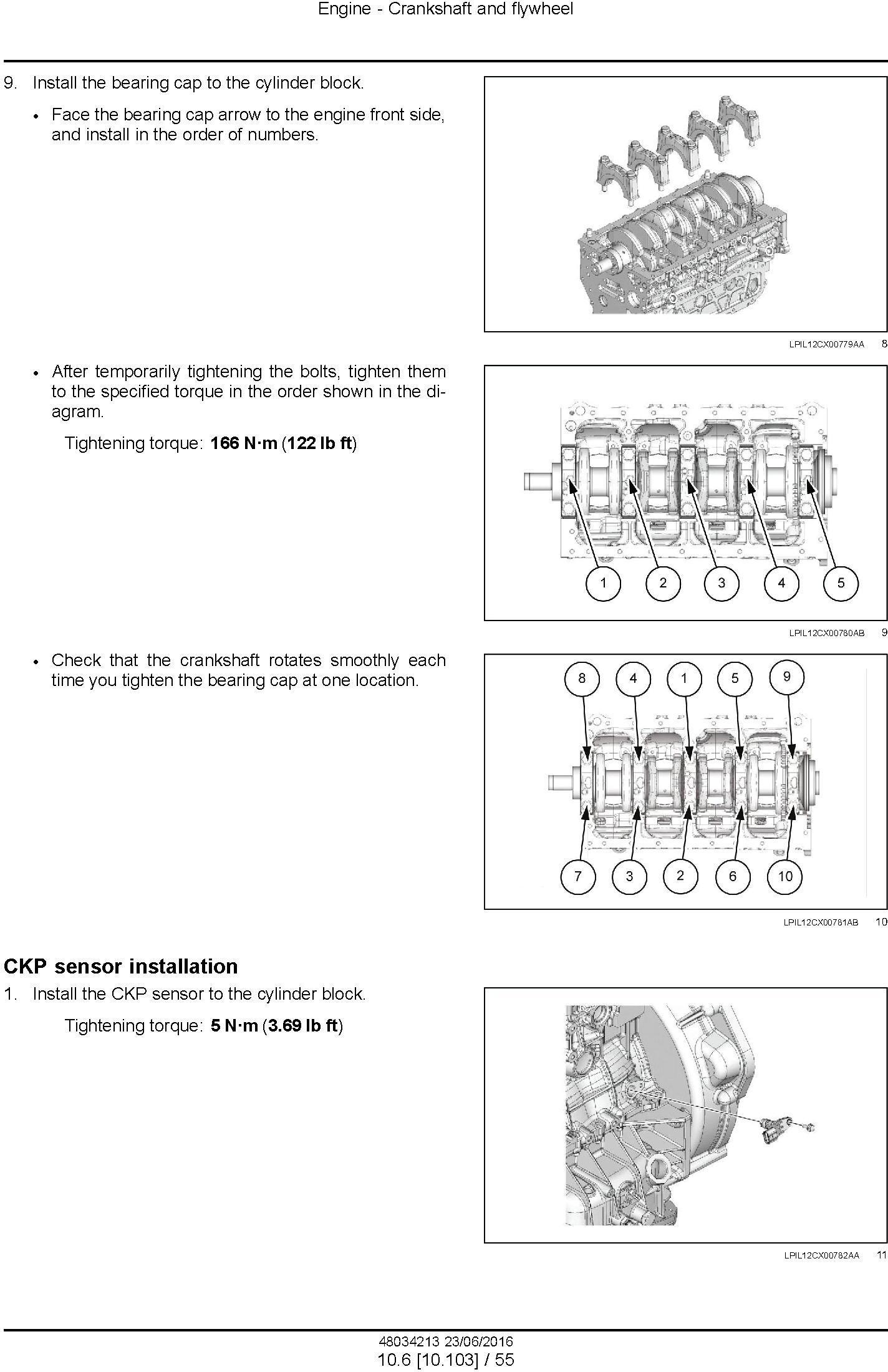 New Holland E145c Evo Crawler Excavator Service Manual