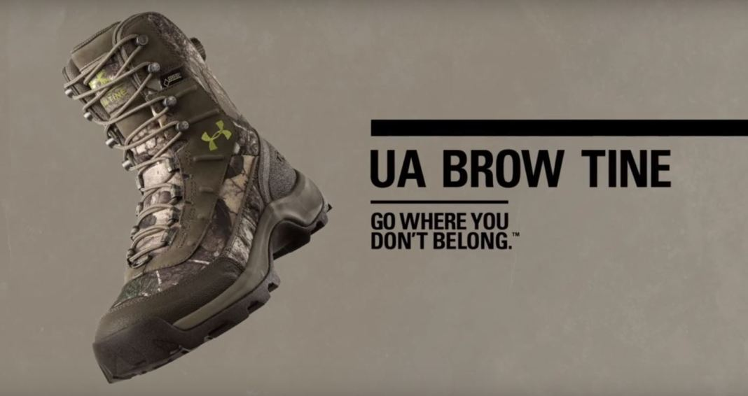 photo of the under armour UA brow tine hunting boots