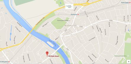 Map of Ryde House - Permanent site for Deer Park School
