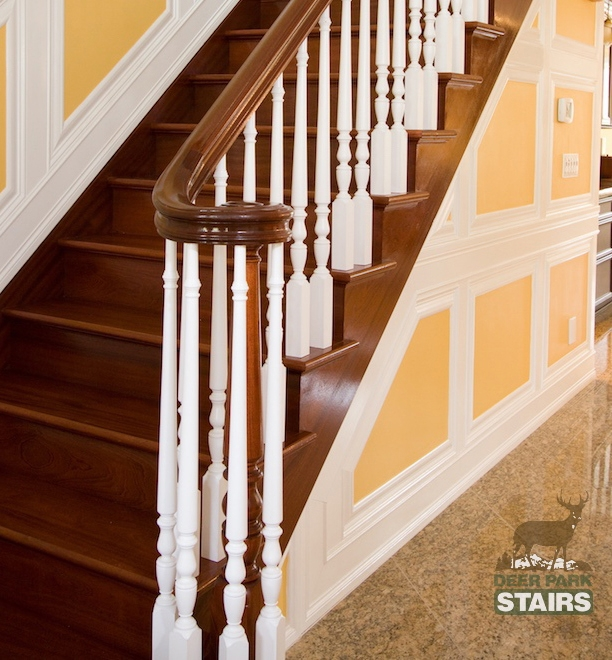 Long Island Custom Stair Builders – Deer Park Stairbuilding And   Second Generation Wood Stairs   Presentation Transcript   Basement Stairs   Staten Island Ny   Stair Treads   Brooklyn Ny