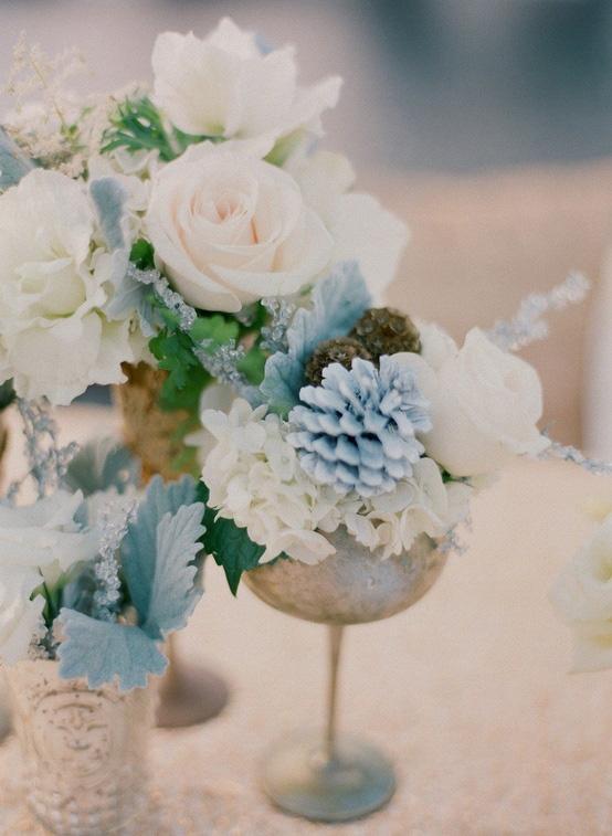 23 Slate And Dusty Blue Wedding Ideas Deer Pearl Flowers