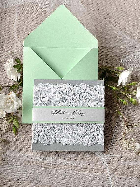 Hessian Wedding Invitations