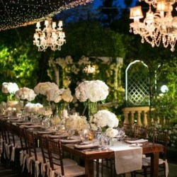 Indoor garden wedding lighting gardening flower and vegetables indoor garden wedding decorating ideas tablescape garden pink junglespirit Images