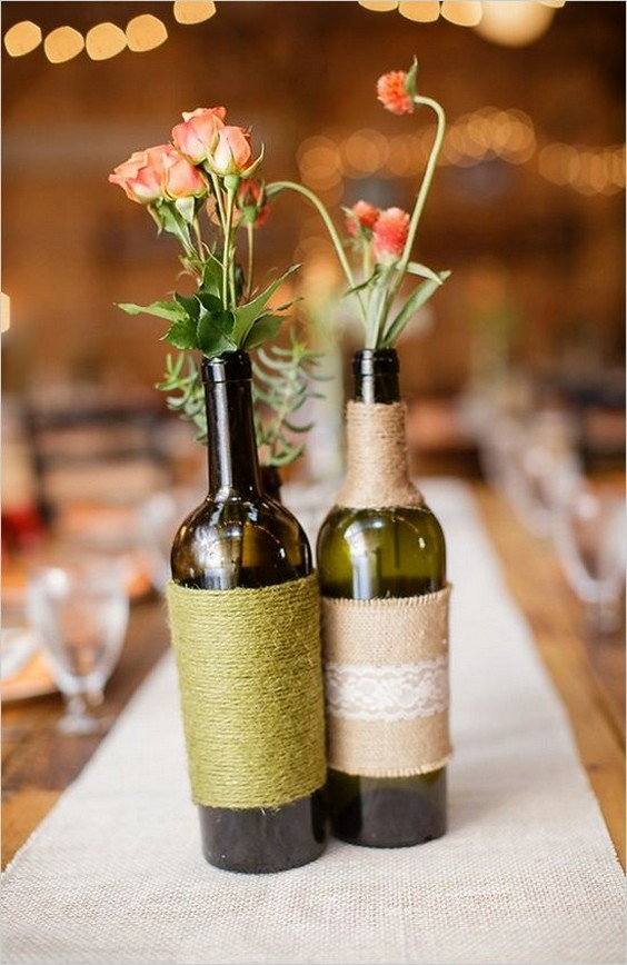 20 Wine Bottle Decor Ideas To Steal For Your Vineyard